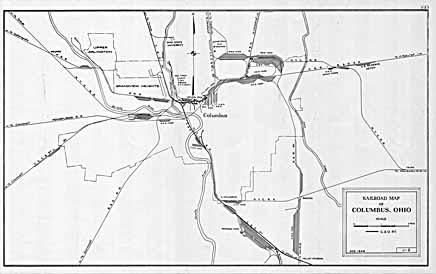 Columbus Franklin County Ohio Maps