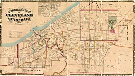 Cleveland City Maps