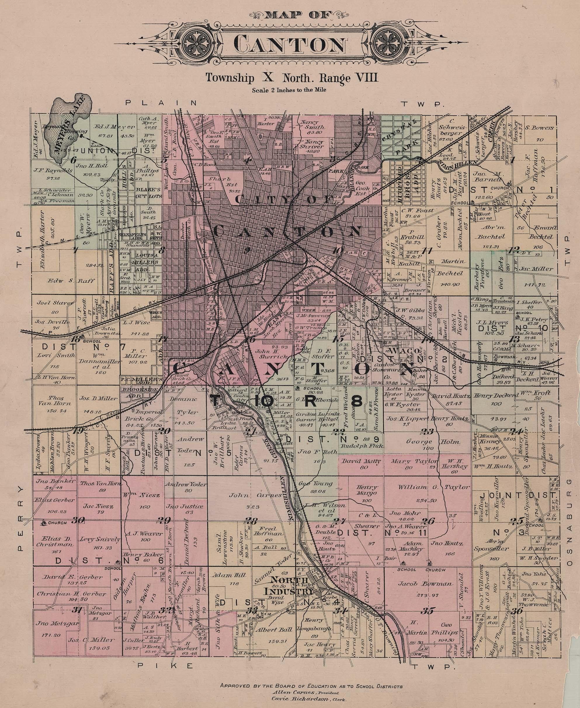 Canton Ohio Railroads