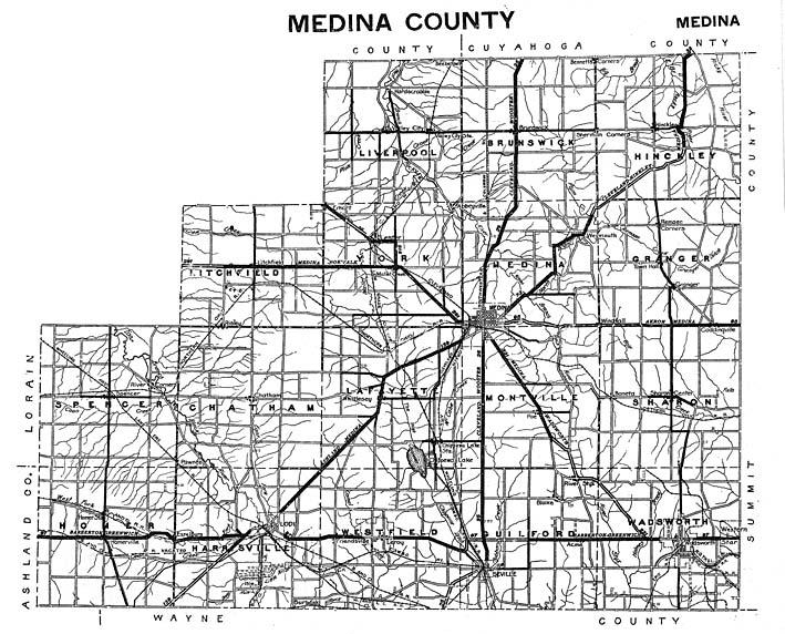 Hixson 1930s Medina County Plat Maps