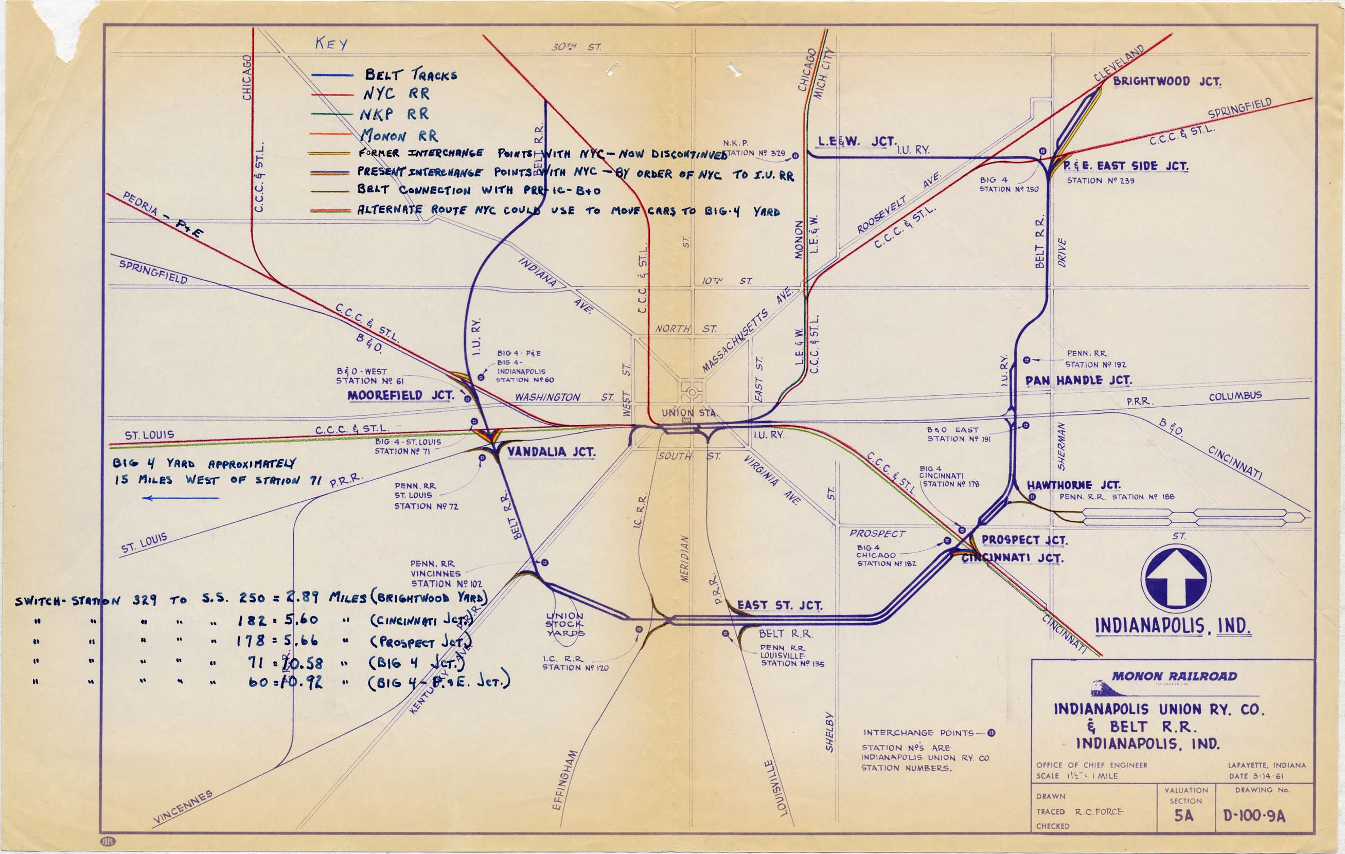 Indianapolis RR Maps