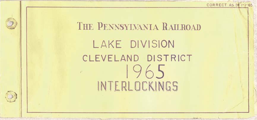 Prr Lake Division Yard Diagrams